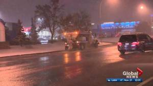 Edmonton to continue using calcium chloride brine on city streets