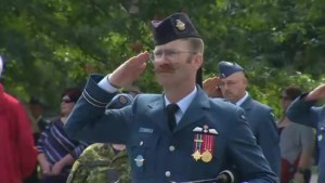 77th anniversary of the Battle of Britain celebrated in Fredericton