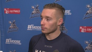RAW: Manitoba Moose Marko Dano Interview – Nov. 26