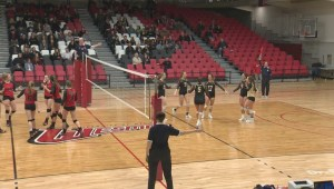 HIGHLIGHTS: University Women's Volleyball – Bisons vs Wesmen – Jan. 18