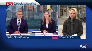 Edmonton homicide detectives investigating deadly 'targeted' shooting