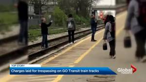 Charge laid in track jumping incident at Kitchener GO station
