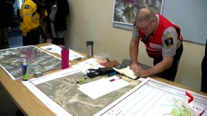 Banff emergency crews prepare for wildfire season with mock exercise