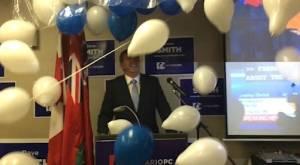 Ontario Election: Dave Smith elected in Peterborough-Kawartha