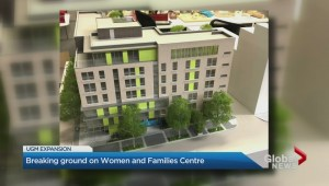 Union Gospel Mission breaks ground on new women and families centre
