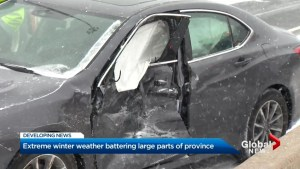 Fewer collisions than expected in Tuesday storm
