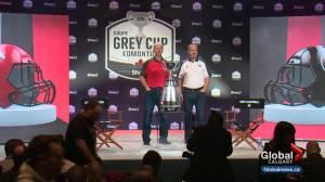 Stampeders, Redblacks arrive in Edmonton ahead of 106th Grey Cup