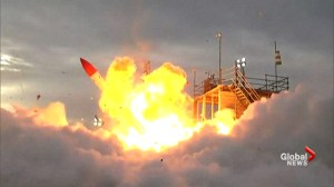Rocket fails, explodes seconds after launch for Japanese start-up company