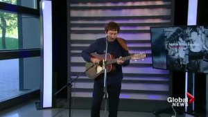Matt Costa performs his single, Sharon
