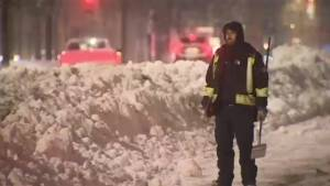 NDG residents digging out as snow removal is underway (01:34)