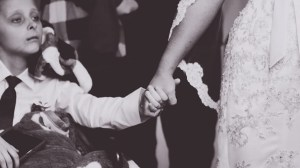 Boy battling cancer gets wish of walking mom down aisle days before dying