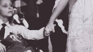 Boy battling cancer gets wish of walking mom down aisle days