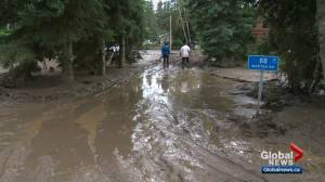 Marten Beach residents left with muddy mess after heavy rainfall