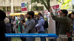 Thousands gather in Toronto in support of Kashmir