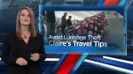 Tips to avoid luggage theft