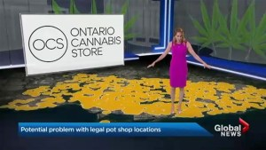Marijuana proximity: The farther away from Ontario schools, the less space for stores