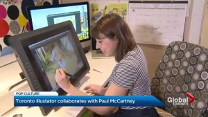 Toronto illustrator partners with Paul McCartney on children's book