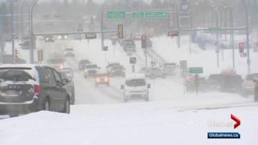 Edmontonians deal with freezing temperatures as city sits
