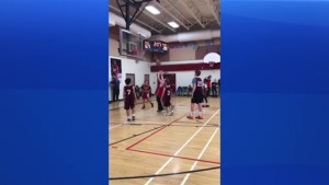 Junior high basketball tournament gives classmate special opportunity at game