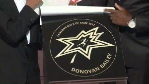 Canada's Walk of Fame 2017: Donovan Bailey