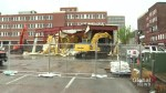 Buildings at the former Canadian Coast guard are being demolished