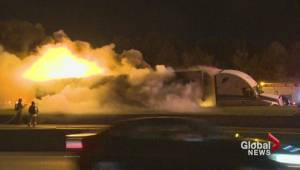 Hwy 401 WB finally opens 11 hours after crash
