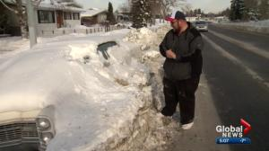 Owner of snowed-in car in northeast Calgary shares frustration