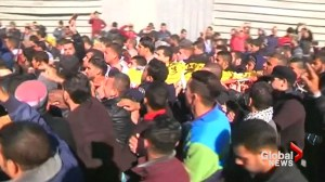 Funerals held after Israeli airstrikes kill 2 Gaza gunmen