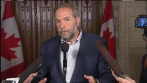 Mulcair: Fort McMurray will need 'a lot of help' in cleanup efforts
