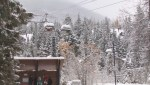 First snowfall: Whistler and Kamloops