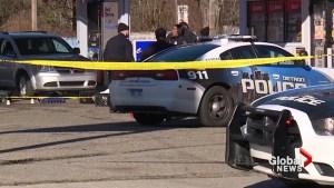 Three people shot dead outside gas station in Detroit