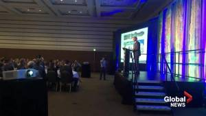 Hundreds gather in Fredericton for state-of-the-city address (01:58)
