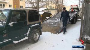 Edmonton-area drivers needing roadside assistance face long waits amid deep freeze