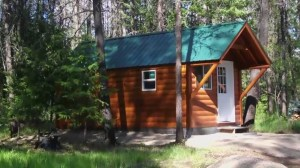 Family shocked to find entire cabin robbed from their property