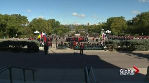 Fallen police and peace officers remembered at annual Sask. memorial