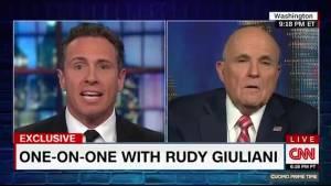 Rudy Giuliani tells CNN: 'If' collusion happened, Trump himself wasn't aware