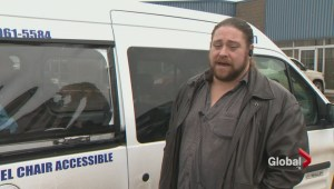 Wheelchair accessible taxi attacked over weekend