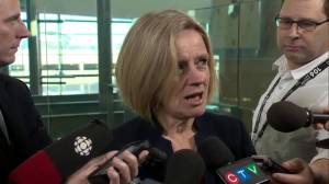 Energy industry is not 'business as usual': Premier Notley