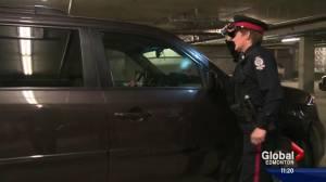 Edmonton struggling with parkade break and enters