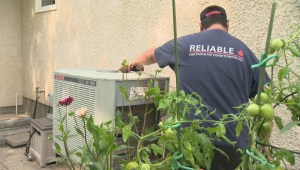 Heat wave leads to spike in A/C service calls in Winnipeg