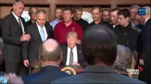 Trump reduces environmental regulations in effort to create jobs