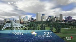 Edmonton early morning weather forecast: Friday, July 13, 2018