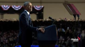 Obama says divisiveness between races remains a threat to democracy