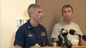 Work underway to develop salvage plan: Coast Guard