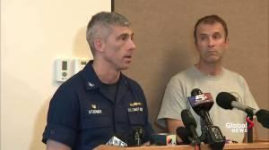 Work underway to develop salvage plan: Coast Guard