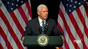 Pence says Space Force would be included in 2019 budget