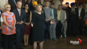 NDP release election platform pledging respect for taxpayers