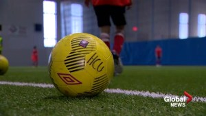 Refugee youth hope for soccer dreams on Canadian soil