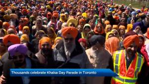 Thousands celebrate Khalsa Day Parade in Toronto