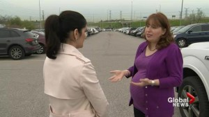 Toronto-area woman wants expectant mothers parking spaces at GO Transit stations